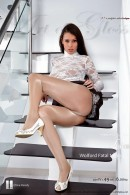 Lia in Wolford Fatal Neon 40 [part IV] gallery from ARTOFGLOSS